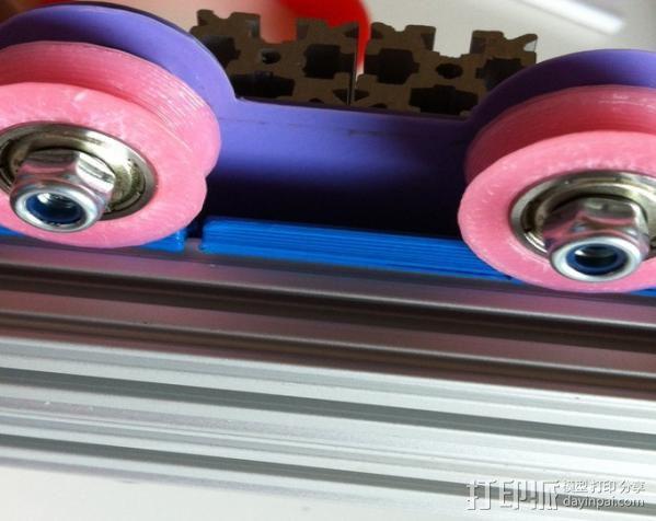双横梁导轨支撑器 3D模型  图9