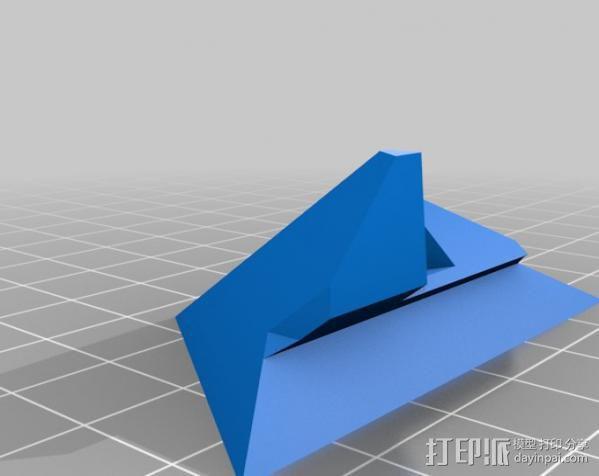 打印机 孔塞 3D模型  图3