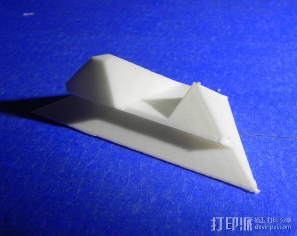 打印机 孔塞 3D模型  图2