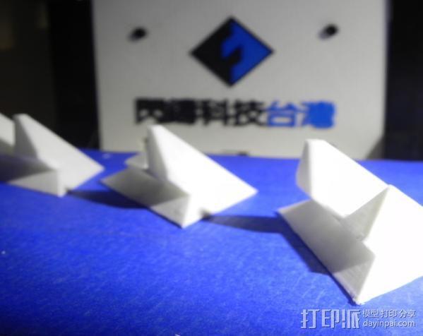 打印机 孔塞 3D模型  图1