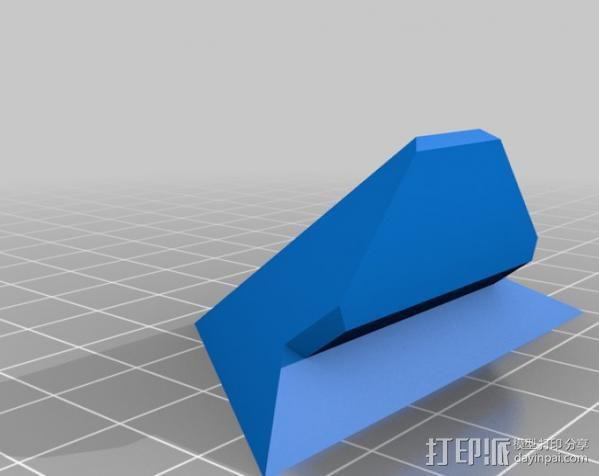 打印机 孔塞 3D模型  图5