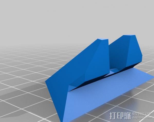 打印机 孔塞 3D模型  图4