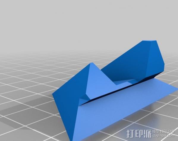 打印机 孔塞 3D模型  图6