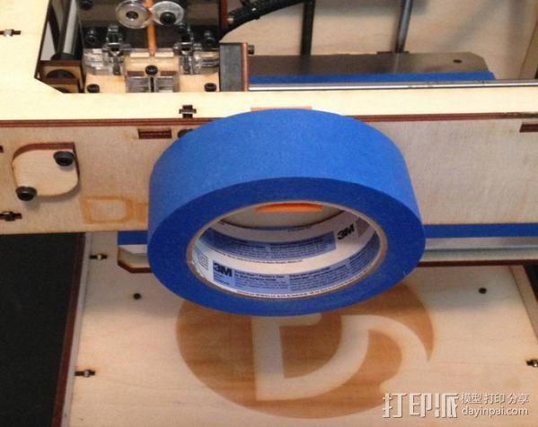 胶带架 3D模型  图3