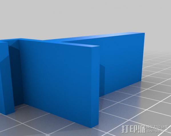 胶带架 3D模型  图2