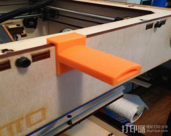 胶带架 3D模型  图1