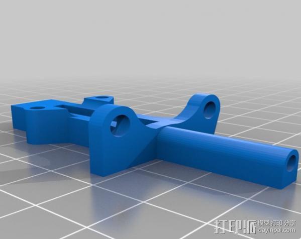 探针自动调平器 3D模型  图2