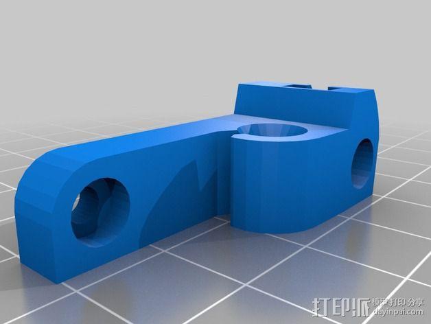 mk5挤出机 3D模型  图2
