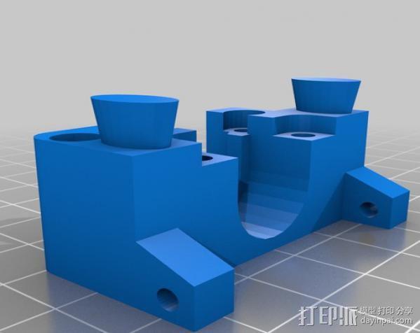 mk5挤出机 3D模型  图3