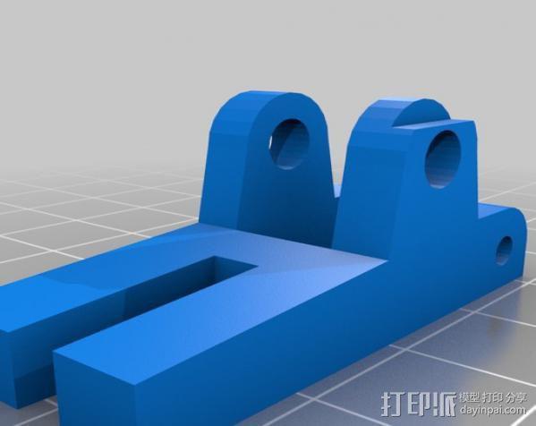 mk5挤出机 3D模型  图5
