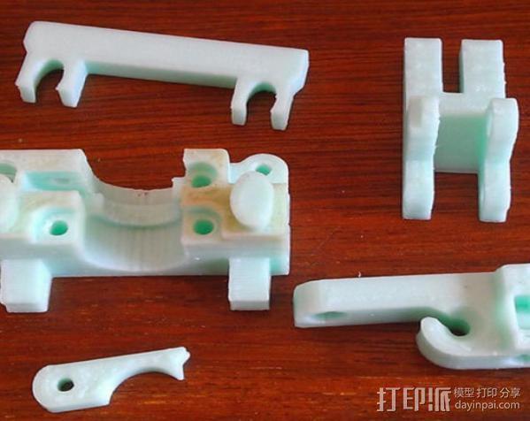 mk5挤出机 3D模型  图9