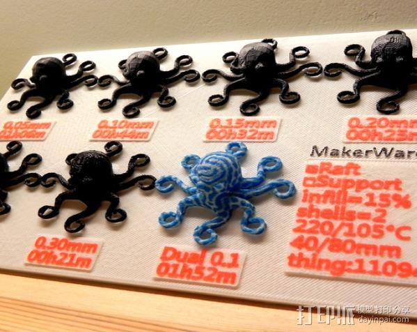 章鱼 打印测试 3D模型  图10