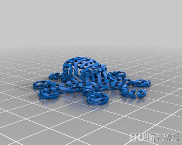 章鱼 打印测试 3D模型  图20