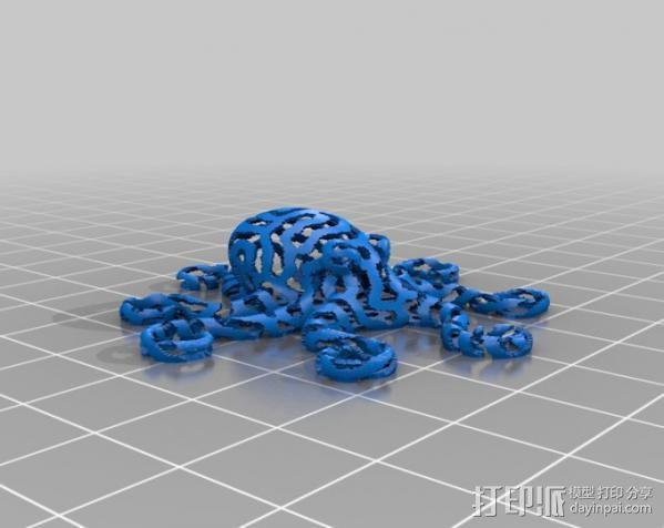 章鱼 打印测试 3D模型  图21