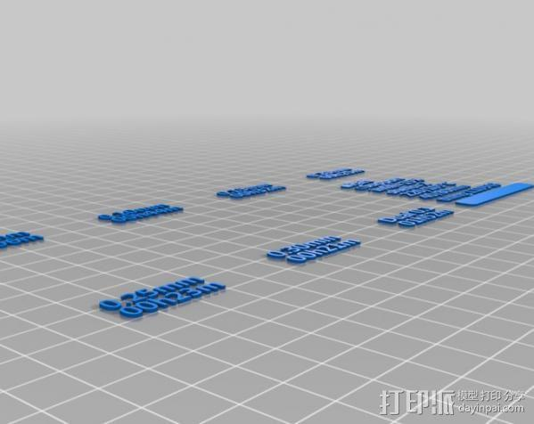 章鱼 打印测试 3D模型  图22
