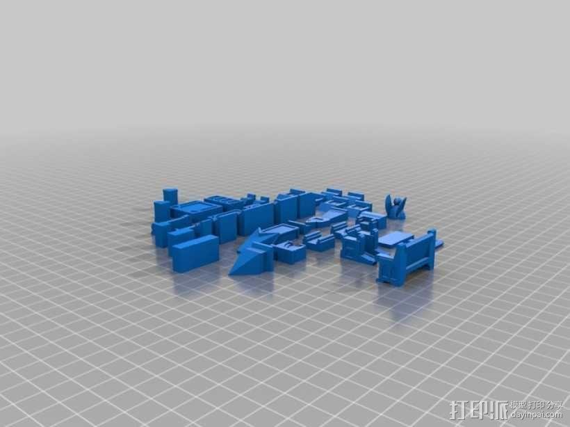 哥特式建筑 3D模型  图2