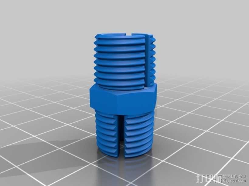 轴杆耦合器 3D模型  图2