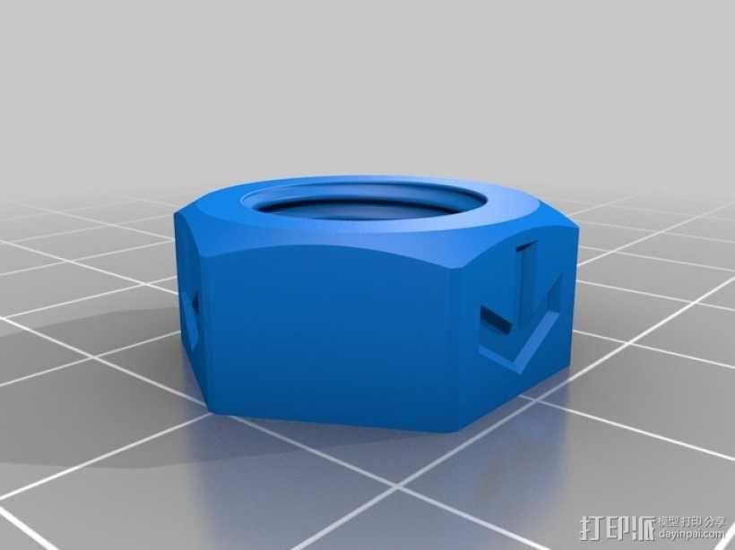 轴杆耦合器 3D模型  图3