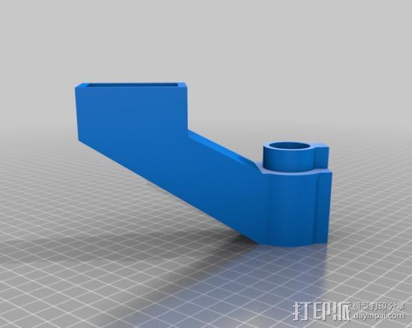 垂直送料斗 3D模型  图3