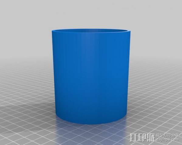 垂直送料斗 3D模型  图2