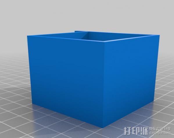 垂直送料斗 3D模型  图4