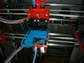 JHead 喷头支架 3D模型