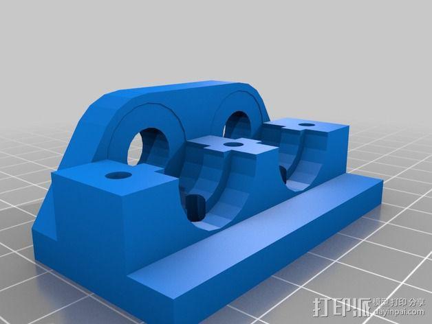 JHead 喷头支架 3D模型  图2
