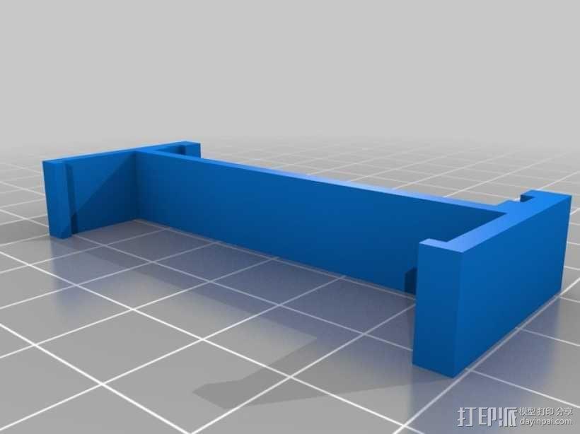 Ramps 1.4电路板适配器 3D模型  图1