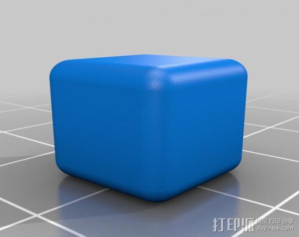 几何方块 3D模型  图2
