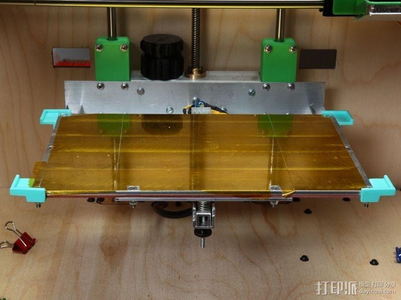 玻璃板支撑固定器 3D模型  图5