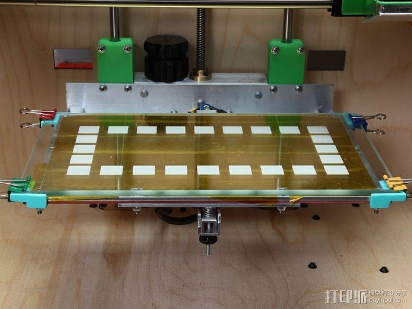 玻璃板支撑固定器 3D模型  图4