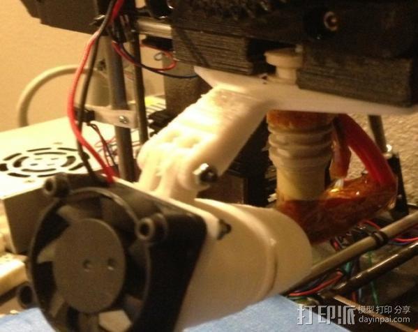 风扇通风导管 风扇支架 3D模型  图5