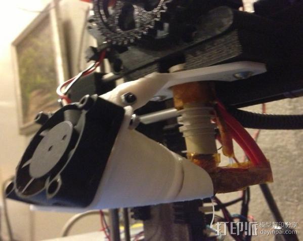 风扇通风导管 风扇支架 3D模型  图7