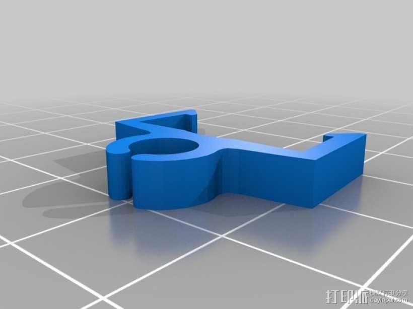 电缆夹 3D模型  图7