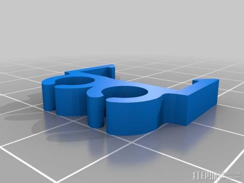 电缆夹 3D模型  图8