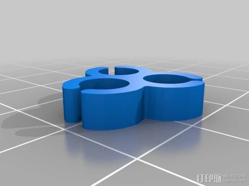 电缆夹 3D模型  图10