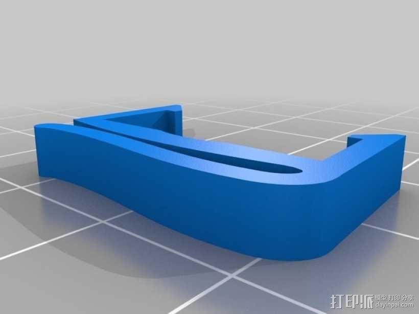 电缆夹 3D模型  图9