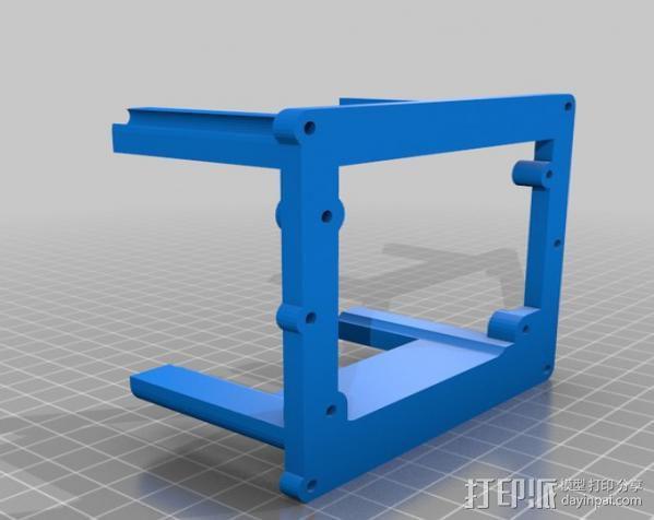电路板保护框  3D模型  图5