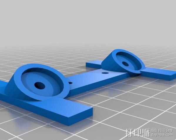 打印机磁力配件 3D模型  图2