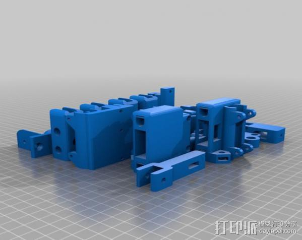 prusa i3打印机打印床套件 3D模型  图1