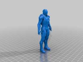 钢铁侠 3D模型