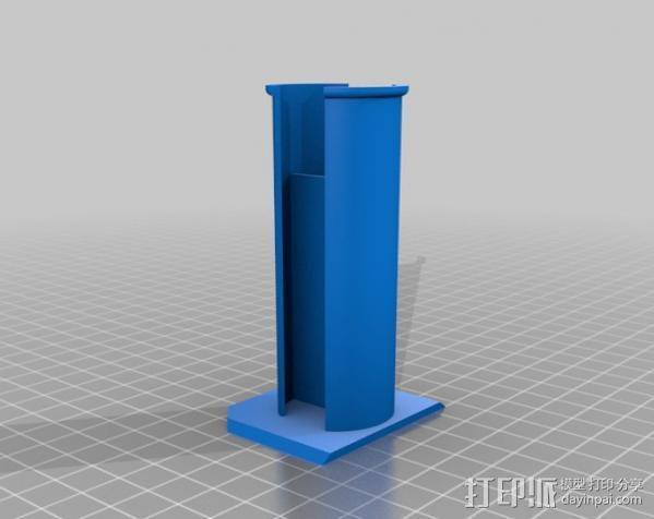 通用式线轴支架 3D模型  图5