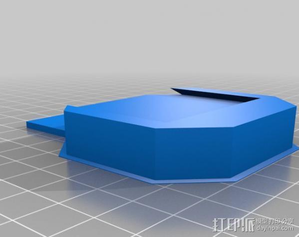 通用式线轴支架 3D模型  图6
