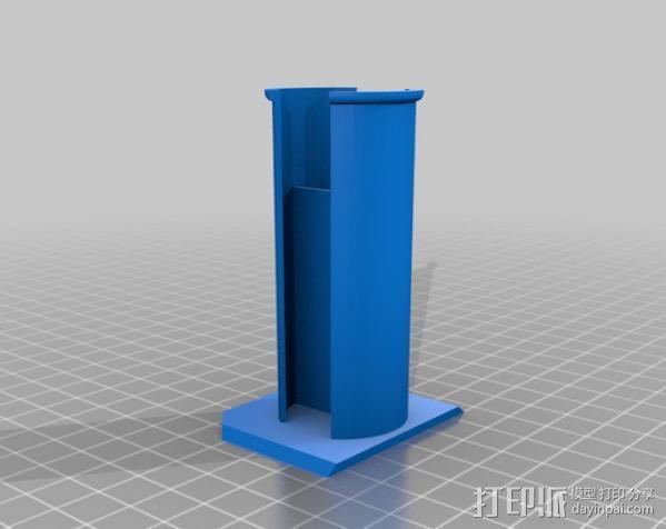 通用式线轴支架 3D模型  图7
