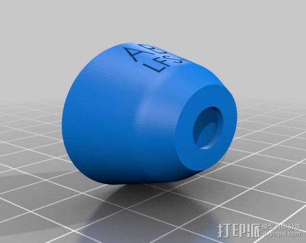 打印测试样品 3D模型  图3