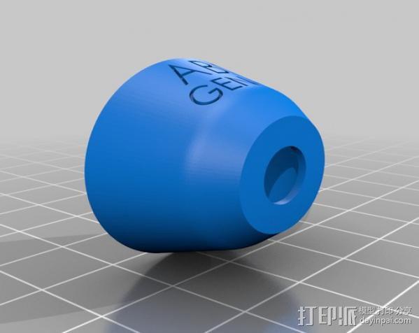 打印测试样品 3D模型  图4