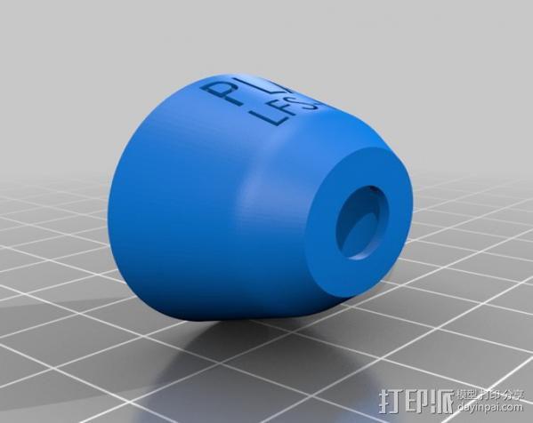 打印测试样品 3D模型  图6