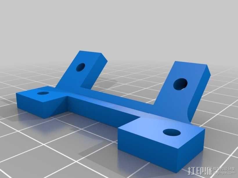 风扇外框 风扇支架 3D模型  图1