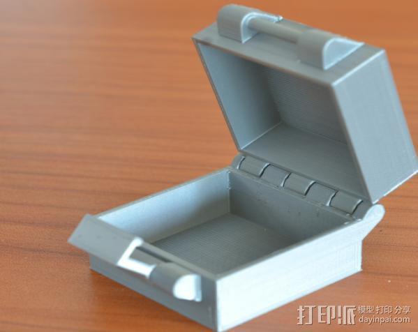 小扣盒 盒子 3D模型  图1