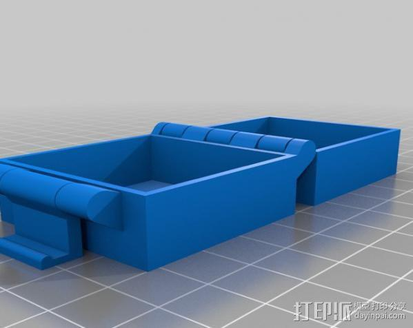 小扣盒 盒子 3D模型  图3